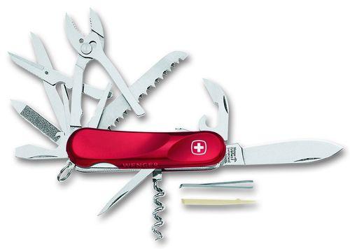 Арм. нож (пероч.) красный, с фиксатором<br>  (1.52.59.300)