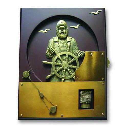Настенный ящик для ключей с капитаном<br>  (WB-24АВ<br> )