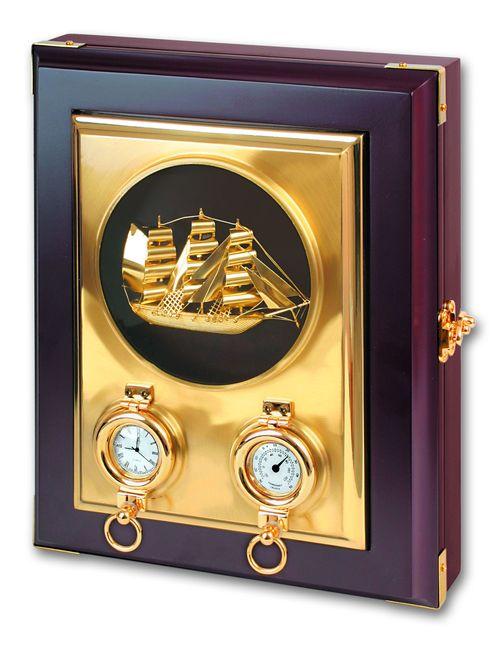 Настенный ящик для ключей с кораблем<br>  (WB-12PB<br> )