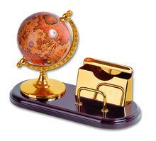 Набор: модель глобуса на деревянной подставке<br>  (GL010<br> )