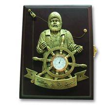Настенный ящик для ключей с капитаном и термометром<br>  (WB-26АВ<br> )