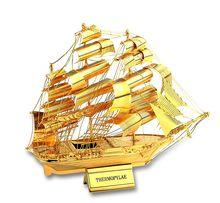 Макет корабля на металл. подставке