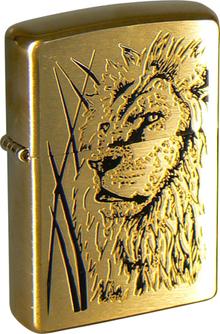 ZIPPO (204B Proud Lion)