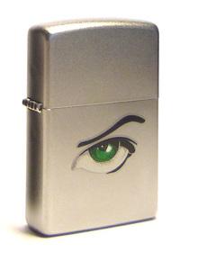 ZIPPO (205 green eyes (CI003486))