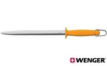 Мусат профессиональный. SWIBO, стальной, овальный, 30 см (2.82.30)