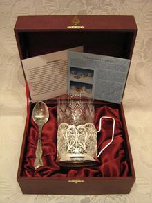 Набор для чая  Филигранный 3пр (ПД-8)