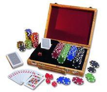 Набор для покера в кейсе (200 фишек) (75184)