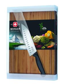 Доска разделочная бамбуковая с ножом 3.56.117 (3.10.146)